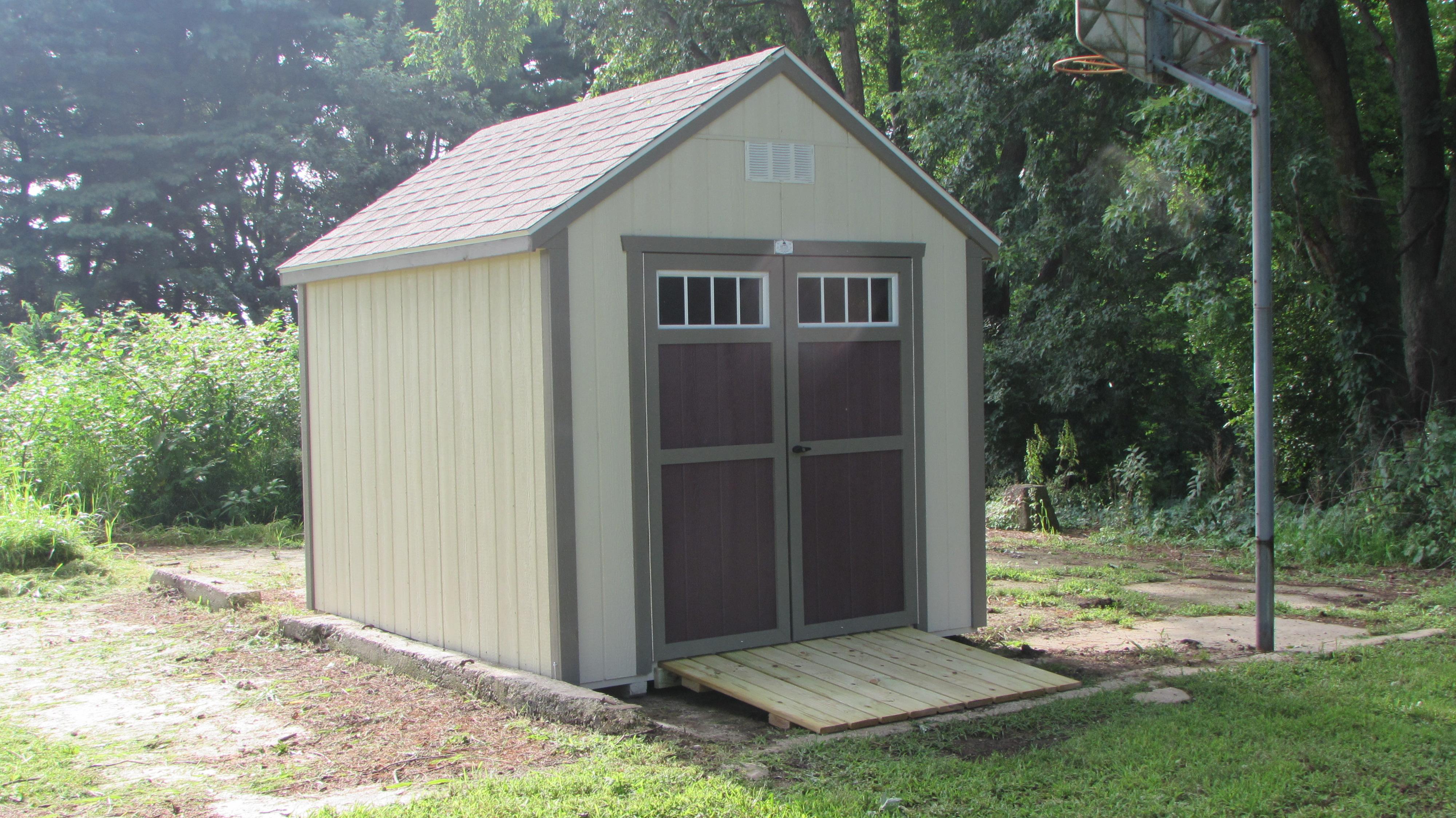 Garden Sheds 8x10 garden shed