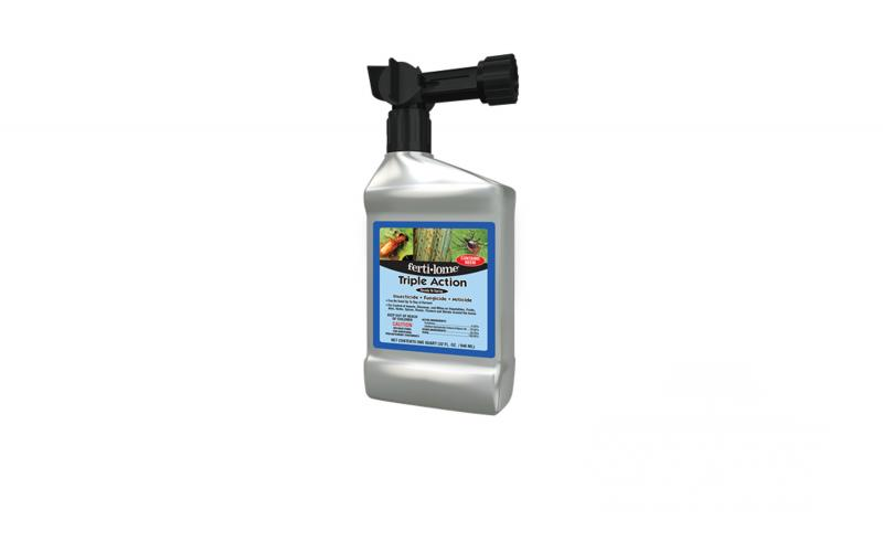 Fertilome Triple Action - Insecticide, Fungicide, and Miticide Ready to Use Spray 32 oz