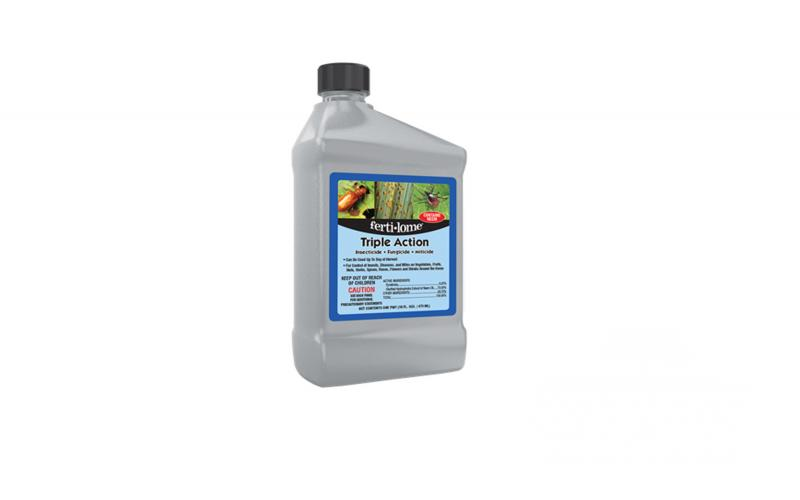 Fertilome Triple Action - Insecticide, Fungicide, and Miticide Concentrate 16 oz