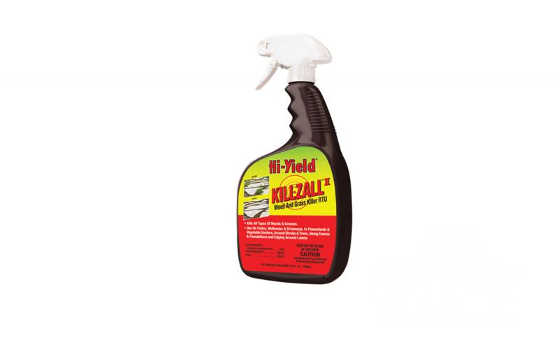 Hi-Yield Killzall Weed and Grass Killer - Ready to Use - 32 oz Bottle