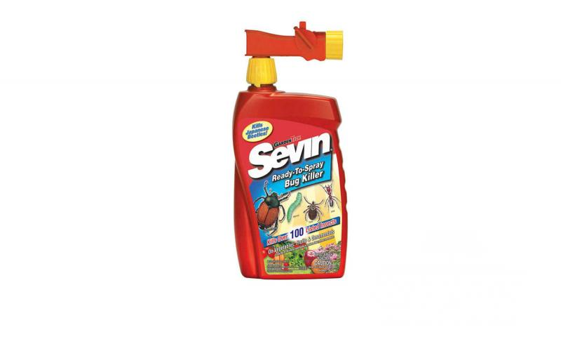 how to use sevin spray