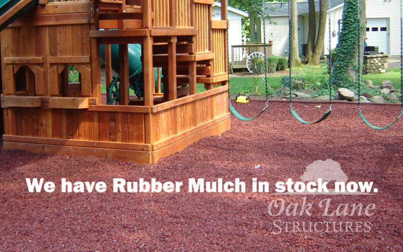 Rubber Mulch for Indianapolis, Lafayette, Kokomo, Logansport, Frankfort and Fort Wayne