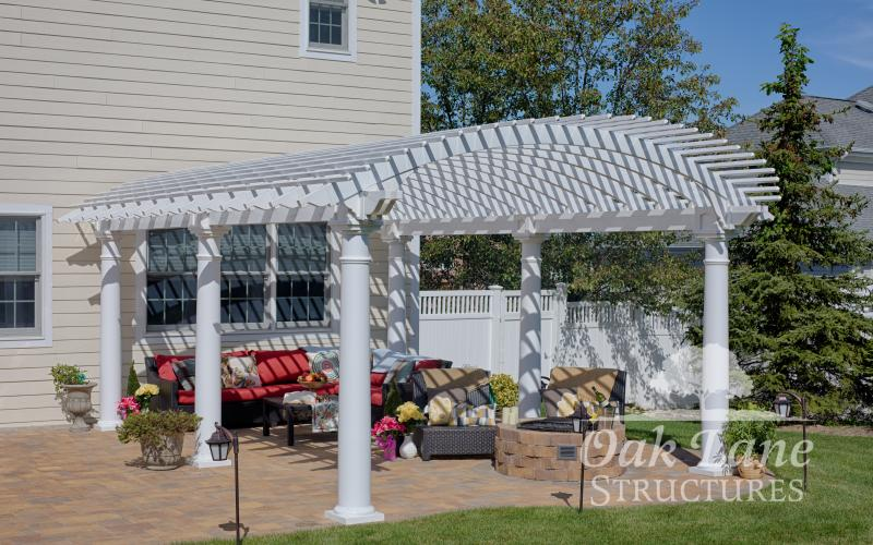 14x20 Vinyl Arcadian Pergola- Indianapolis, Fort Wayne, and Chicago