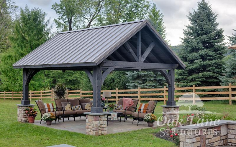 Spice Up Your Backyard With A Pavilion Pergola Or Gazebo