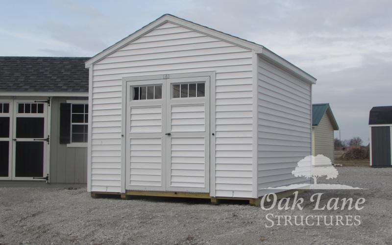 10x12 Vinyl Workshop - Indianapolis Chicago Kokomo Lafayette Frankfort Fort Wayne & Buy A Storage Shed for your Kokomo Lafayette or Logansport home