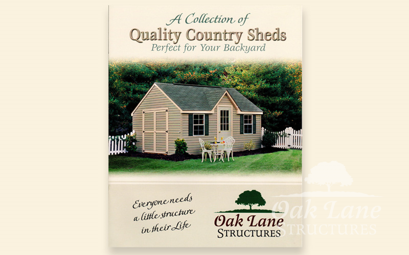Contact us for your FREE Oak Lane Structures brochure - Indianapolis, Fort Wayne, or Chicago