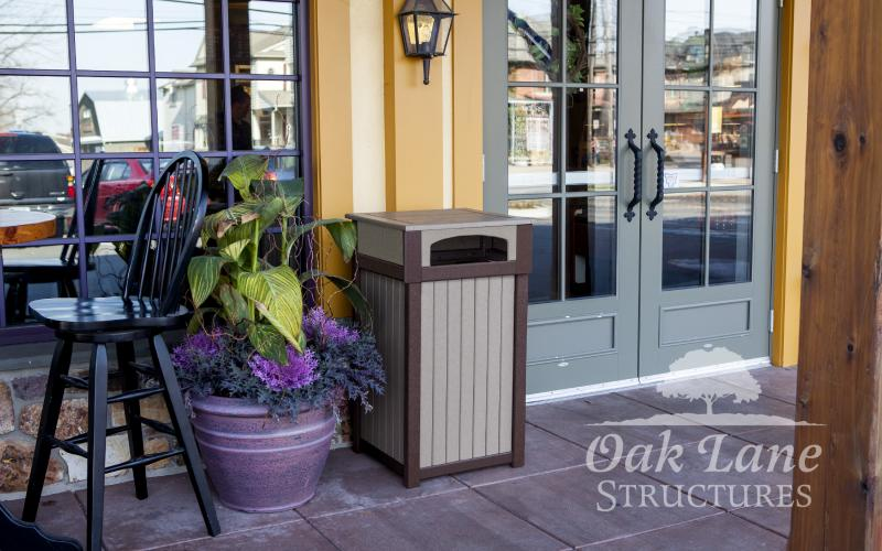 Poly Trash Can, Poly Lawn Furniture, Noblesville, Bourbon, Carmel, Lebanon, Greenwood, Indianapolis, Chicago, Fort Wayne, Lafayette, Logansport, Frankfort, Monticello, Warsaw, Flora