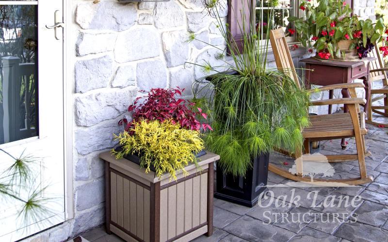 Poly Flower Planter, Poly Furniture, Noblesville, Zionsville, Greenwood, Indianapolis, Chicago, Fort Wayne, Bourbon, Warsaw, Lafayette, Logansport, Kokomo, Frankfort,