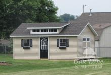 14x20 Garden Shed with Transom Dormer