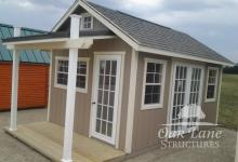 10x16 Garden Shed w/ Porch