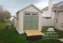 8x10 Garden Shed