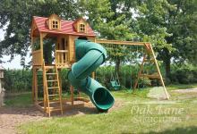 Custom Cottage Series Swingset - Indianapolis, Carmel, Fishers, Noblesville, Lebanon, Greenwood, Zionsville, Lafayette, Kokomo, Logansport, Frankfort