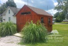 10x12 Garden Shed- Zionsville, Chicago, Warsaw, Indianapolis, Fort Wayne, Lafayette, Kokomo
