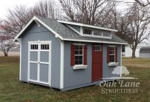 Garden Shed, Shingle Roof, Oak Lane, Recreation, Maintenance Free Buildings, Noblesville, Zionsville, Chicago, Lebanon, Fort Wayne, Greenwood, Indy, Bourbon, Fort Wayne, New Haven, Flora, Lafayette, Kokomo, Logansport, West Lafayette, Monticello