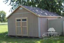 14x20 Garden Shed, Shingle Roof, Oak Lane, Recreation, Maintenance Free Buildings, Noblesville, Zionsville, Chicago, Lebanon, Fort Wayne, Greenwood, Indy, Bourbon, Fort Wayne, New Haven, Flora, Lafayette, Kokomo, Logansport, West Lafayette, Monticello