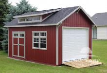 12x18 Garden Shed - Indianapolis, Warsaw, Zionsville, Kokomo, Logansport, Lafayette, Chicago, Fort Wayne