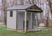 8x10 Dog Kennel - Noblesville, Zionsville, Carmel, Brownsburg, Indy, Indianapolis, Flora, Kokomo, Lafayette, Logansport, Monticello, Bourbon, Fort Wayne, Chicago, Frankfort, Greenwood, Terre Haute