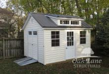 Garden Shed, Metal Roof, Oak Lane, Recreation, Maintenance Free Buildings, Noblesville, Zionsville, Chicago, Lebanon, Fort Wayne, Greenwood, Indy, Bourbon, Fort Wayne, New Haven, Flora, Lafayette, Kokomo, Logansport, West Lafayette, Monticello