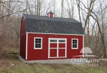 Gambrel Shed, Shingle Roof, Oak Lane, Recreation, Maintenance Free Buildings, Noblesville, Zionsville, Chicago, Lebanon, Fort Wayne, Greenwood, Indy, Bourbon, Fort Wayne, New Haven, Flora, Lafayette, Kokomo, Logansport, West Lafayette, Monticello