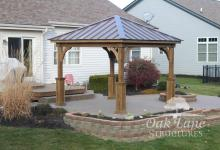 Pavilion, Gazebo, Pergola, Play Sets, Lawn Furniture, Pool House, Villa, in Lebanon, Indy, Carmel, Noblesville, Greenwood, Zionsville, Flora, Frankfort, Kokomo, Lafayette, Logansport, West Lafayette, Brownsburg, Clayton