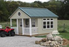 12x16 Garden Shed w/ Porch