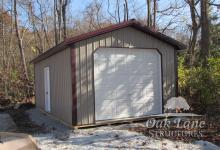 14x24 Portable Garage- Warsaw, Indianapolis, Chicago, Fort Wayne, Lafayette, Kokomo, Zionsville