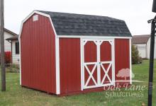 10x12 Wood Painted Gambrel Barn - Noblesville, Carmel, Indianapolis, Lafayette, Kokomo, Frankfort, Monticello, Logansport, Greenwood, Chicago, Fort Wayne