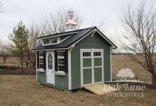 10x12 Garden Shed- Zionsville, Noblesville, Fishers, Carmel, Chicago, Warsaw, Indianapolis, Fort Wayne, Lafayette, Kokomo