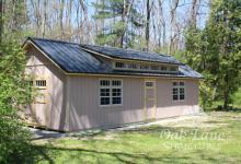 14x32 Garden Shed w/ 6 Window Transom Dormer - Noblesville, Carmel, Zionsville, Indianapolis, Chicago, Fort Wayne, Lafayette, Logansport