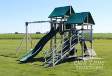 Poly Swingsets, Playmor, Maintenance Free Swingsets, Kids Playsets