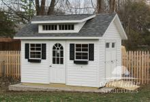 10x12 Garden Shed w/ Double Transom Dormer, Noblesville, Zionsville, Carmel, Indy, Indianpolis, Chicago, Fort Wayne,